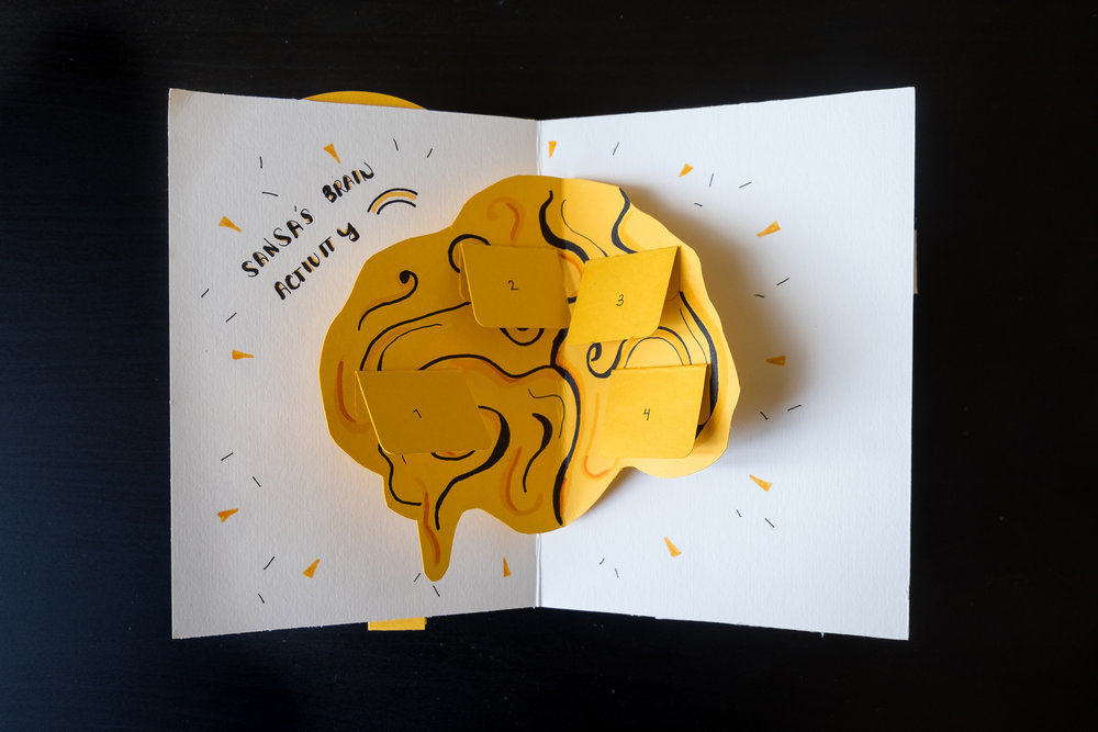 Coming To Terms - Creating an interactive pop-up storybook that drives social empathy and awareness towards mental health.