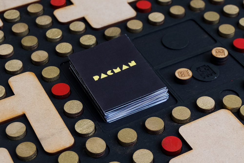 Pac-Man Board Game - Re-creating a digital video game into an analog gaming experience.