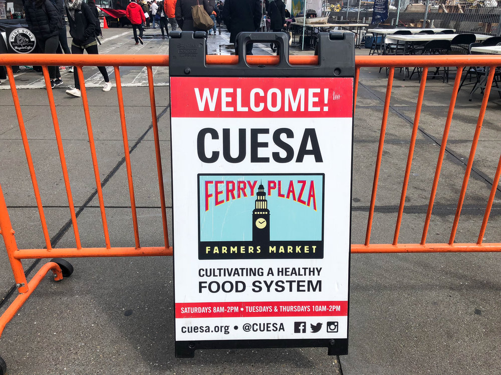 Center for Urban Education About Sustainable Agriculture (CUESA)   A tax-exempt nonprofit organization that is dedicated to cultivating a sustainable food system through the operation of farmers markets and educational programs.