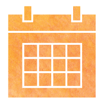 Training calendar icon