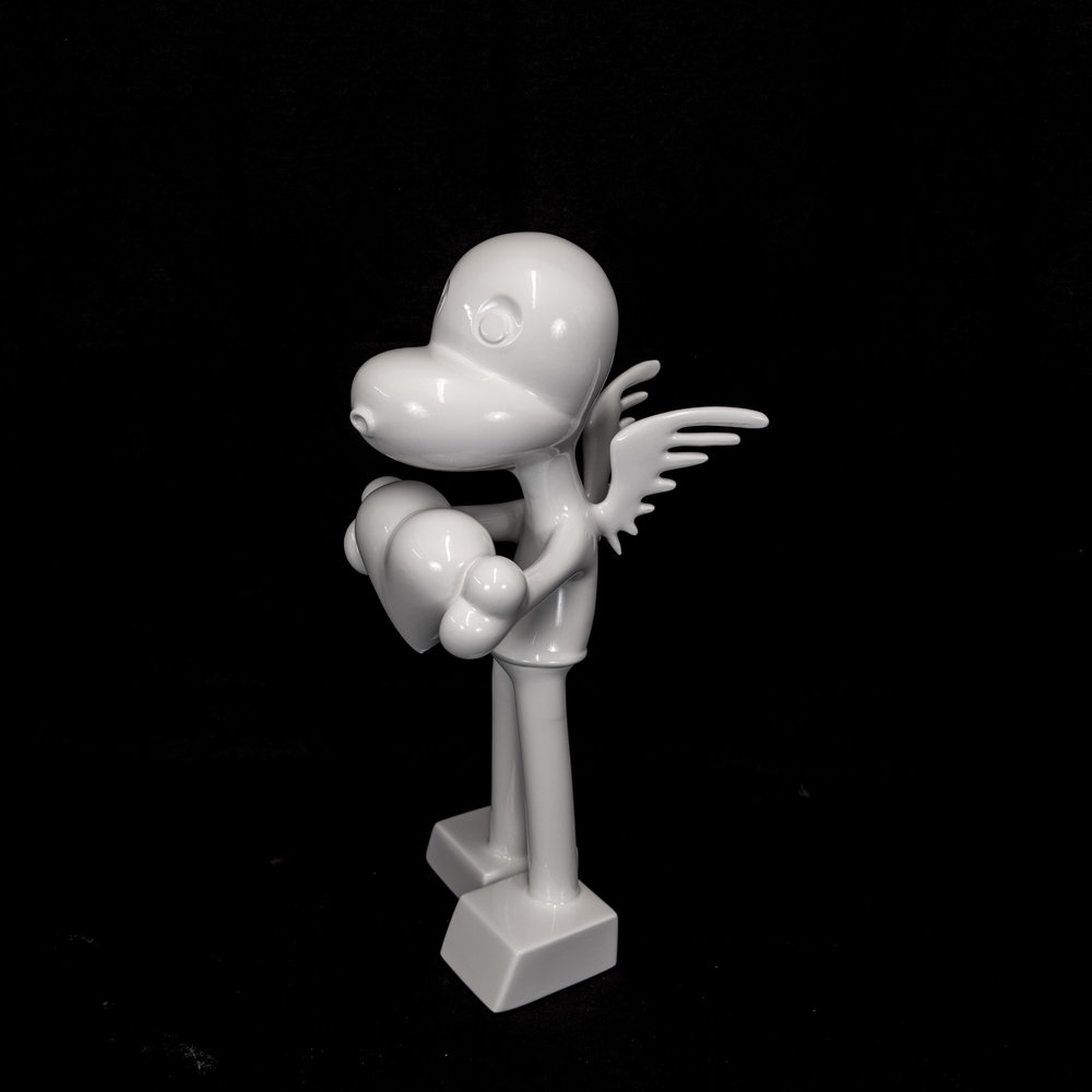 """Zevi G's """"The Angel"""" from 456 Land. Available for purchase at Marcel Katz Art."""