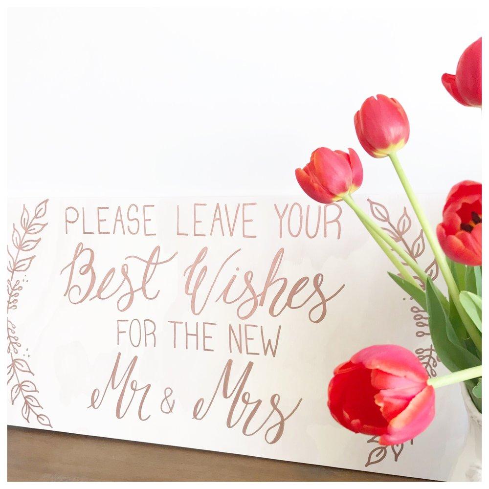 Calgary Calligraphy & Signage by Kaitlyn Elizabeth Ann