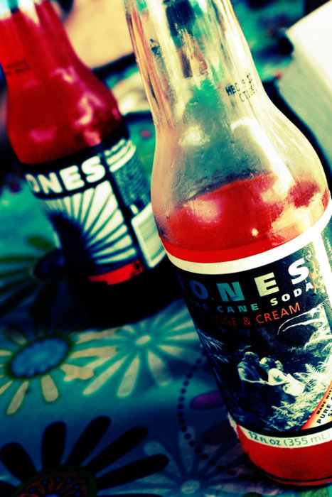 Dumb photo. Nice soda