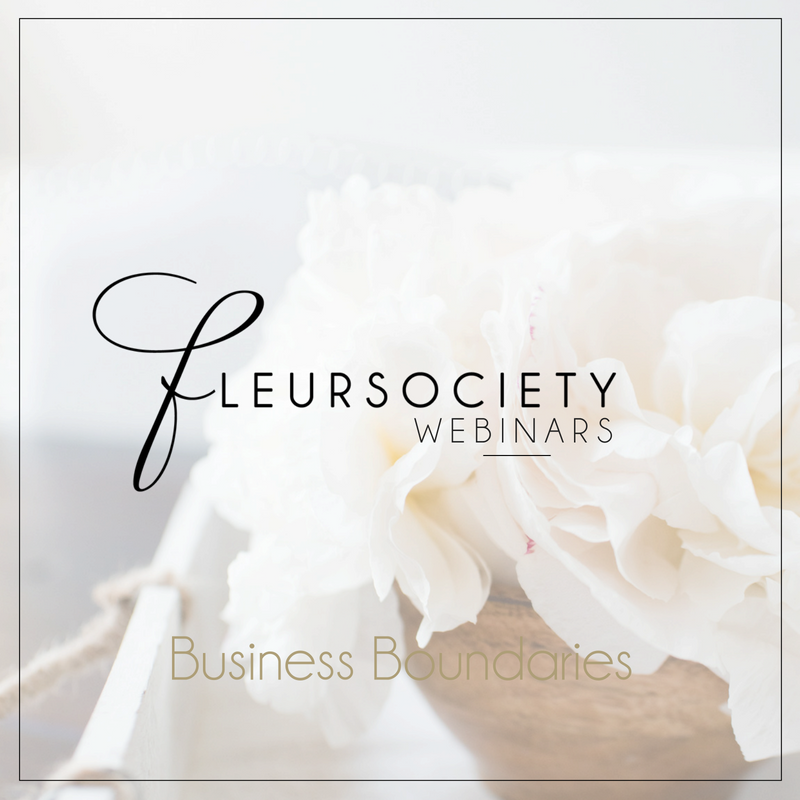 Fleursociety Business Boundaries Webinar