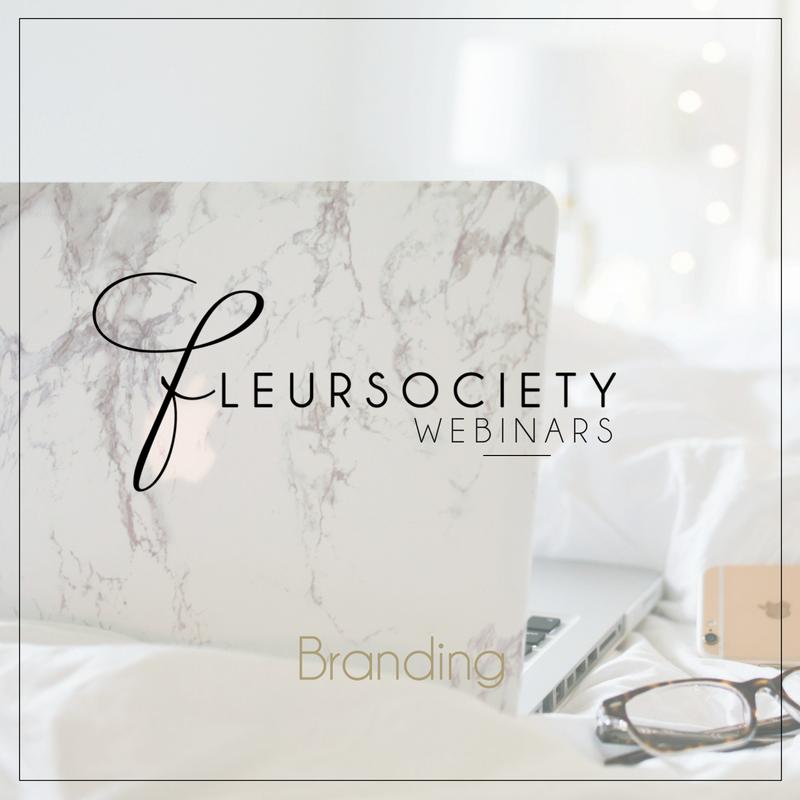 Fleursociety Branding Webinar