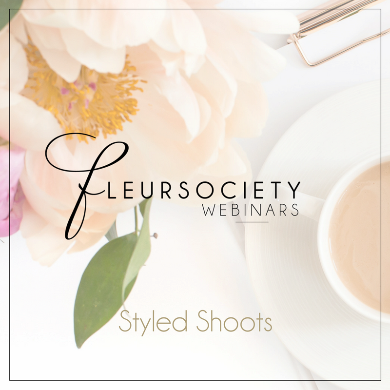 Fleursociety Styled Shoots Webinar