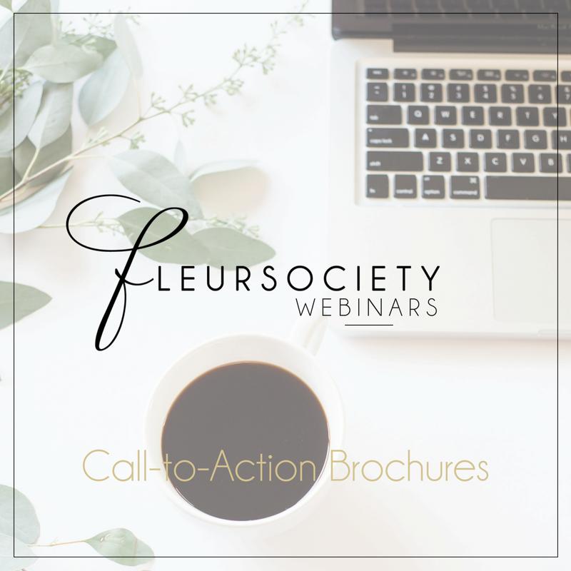 Fleursociety Brochures Webinar