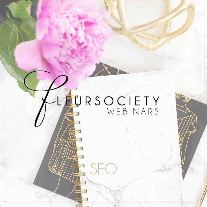 Fleursociety Webinars: SEO