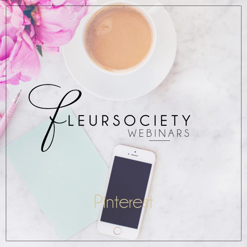 Fleursociety Pinterest Webinar