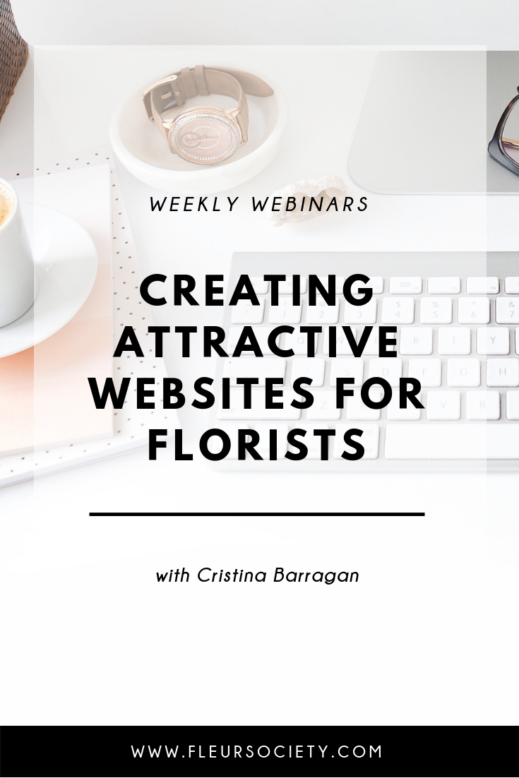 Fleursociety Creating Attractive Websites for Florists
