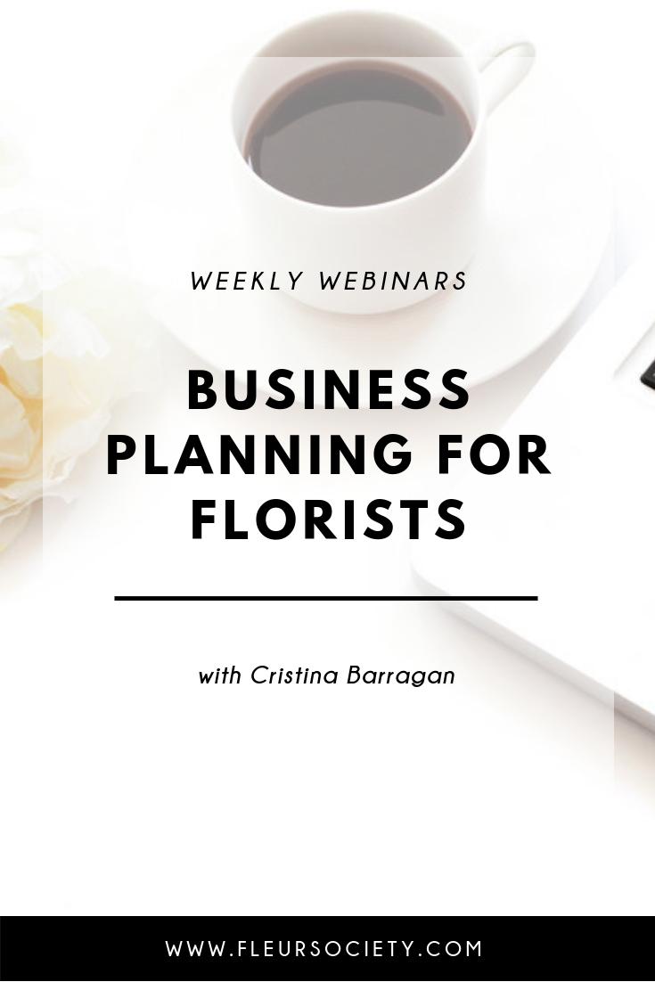 Fleursociety Business Planning