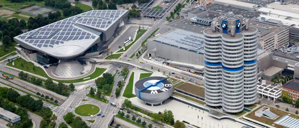 The BMW Headquarters in Munich, Germany.