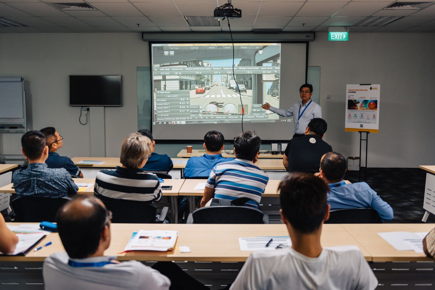 GFA holds its first eco-driving training in Singapore