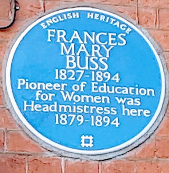 Frances Buss plaque