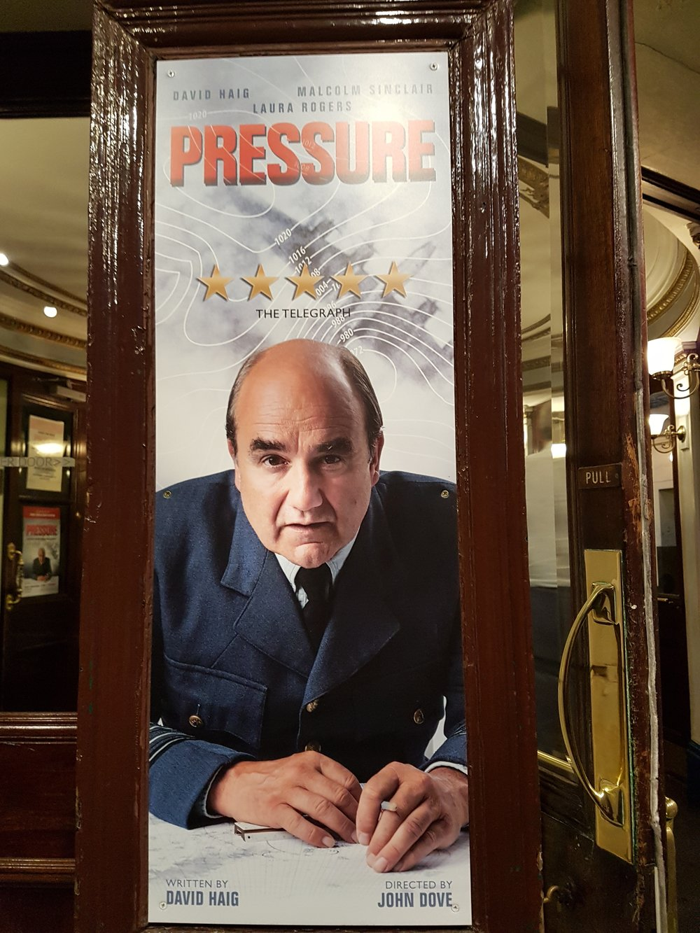 David Haig as Dr James Stagg in Pressure