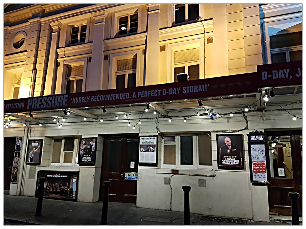 Pressure at the Ambassadors Theatre, West End