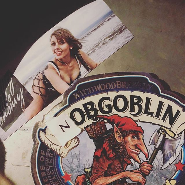 Heh. @hobgoblin_beer @georgia_tinks #beer #femalefronted #band #music #sunday #silly #funny #girlguitarist #rock #pop #metal #babe #beach