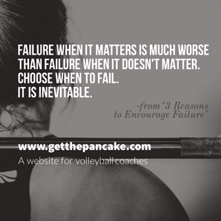 3 Reasons to Encourage Failure