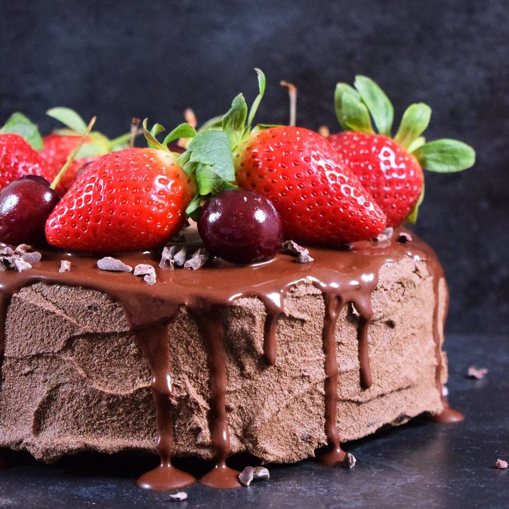 Vegan Chocolate Cake - Ally The Earthling