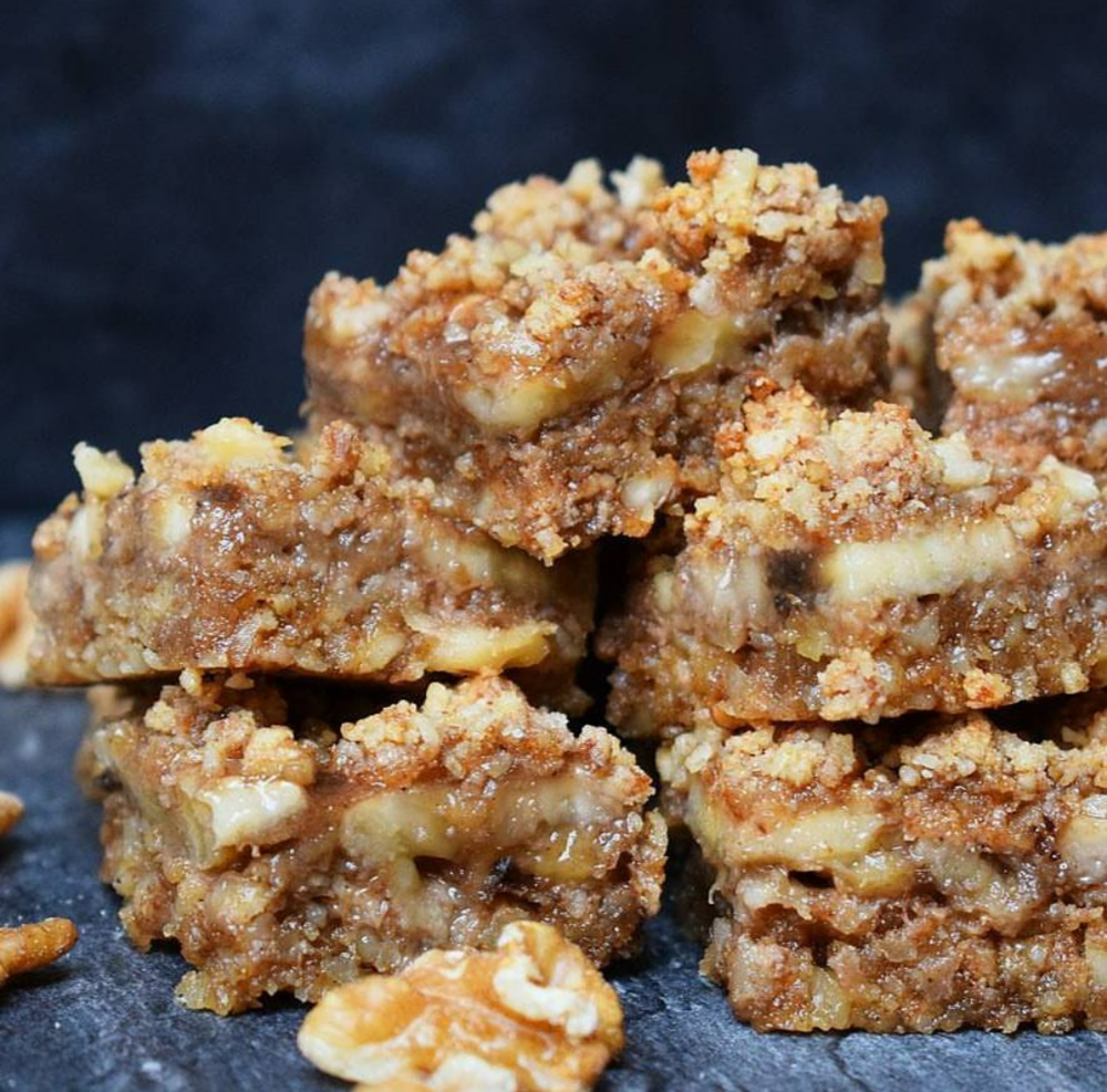 Banana Crumble Bars