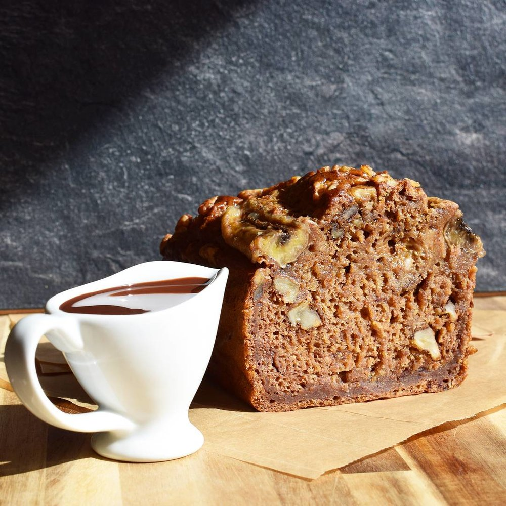 Peanut Butter Banana Bread - Ally The Earthling