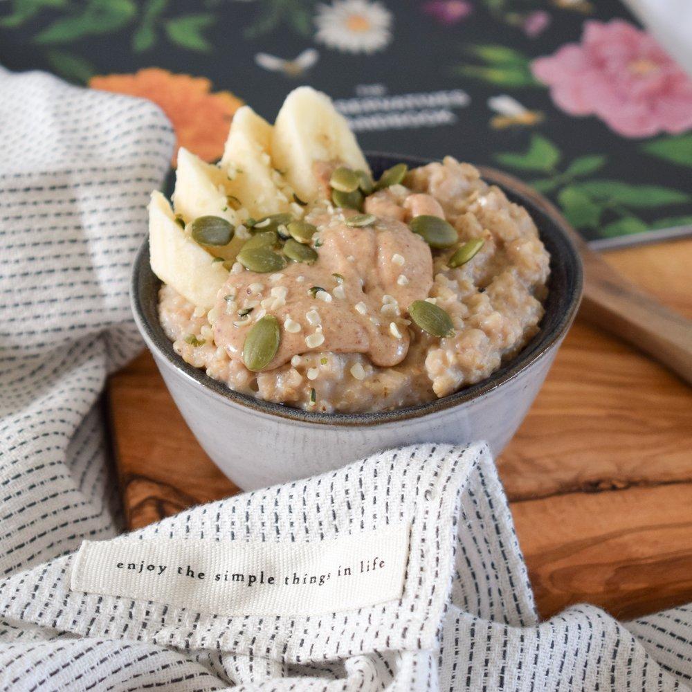 Peanut Butter Porridge
