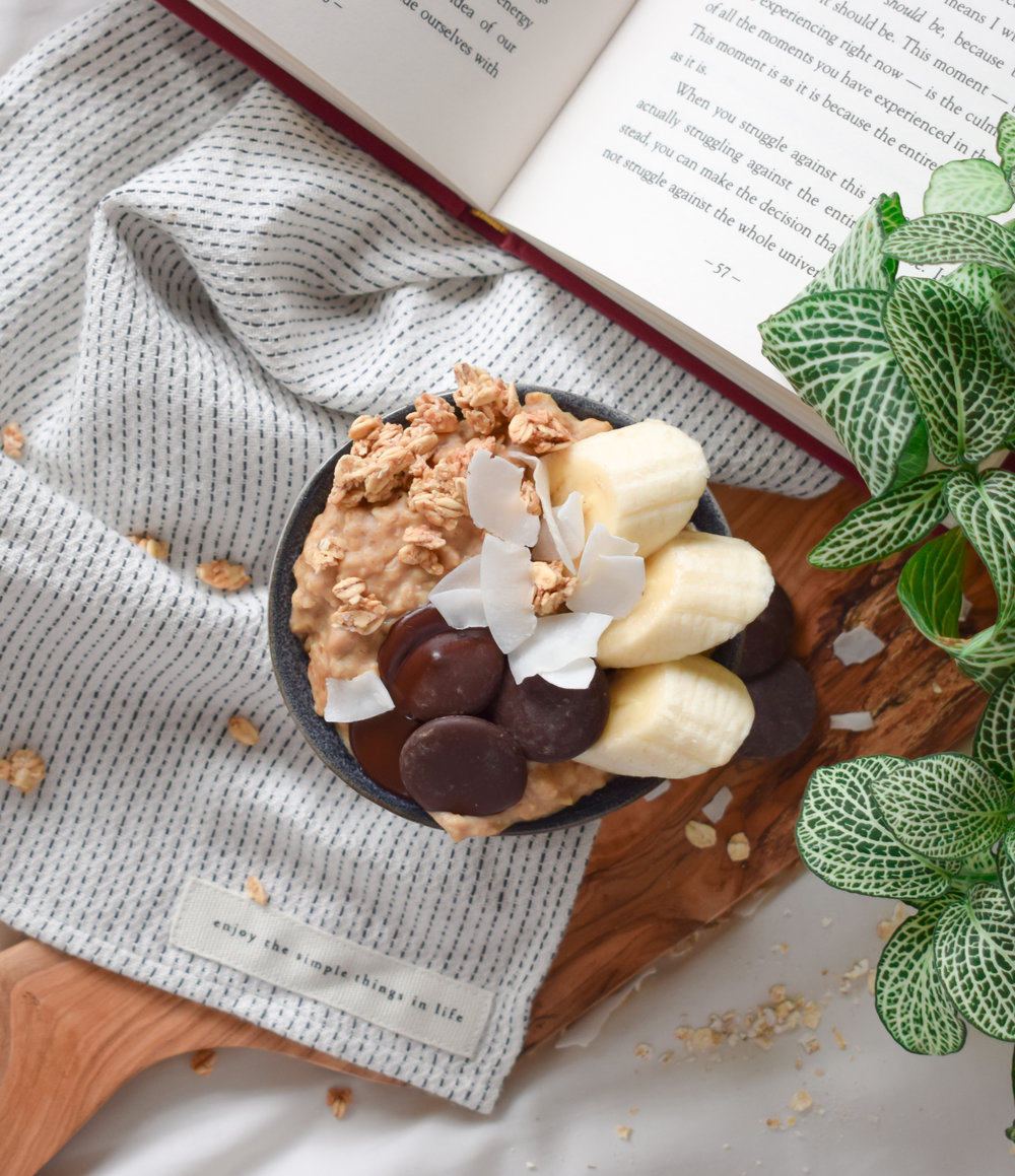 Chocolate Banana Porridge