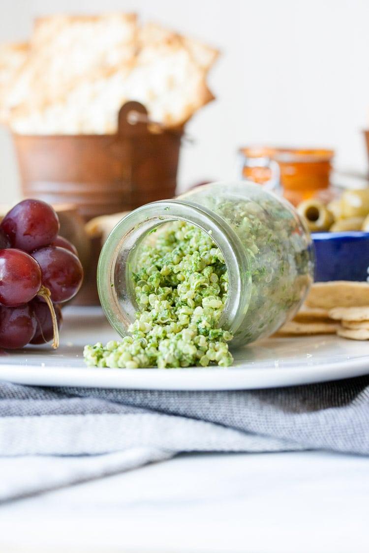 Vegan Cheese and Dip Platter
