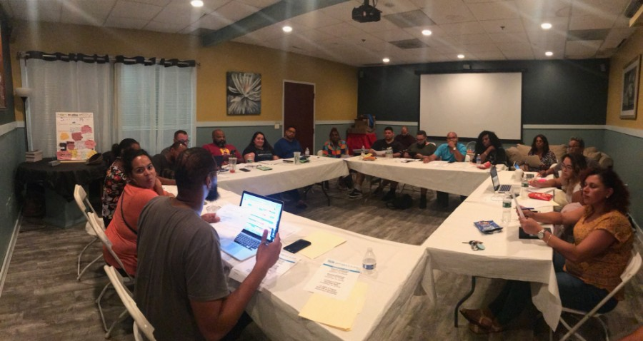 Above: Planning team for 10 Days Bridgeport