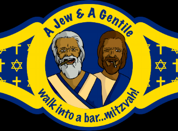 A Jew and A Gentile Walk into A Bar...Mitzvah! - A pastor and Rabbi team up to talk God. From the website: