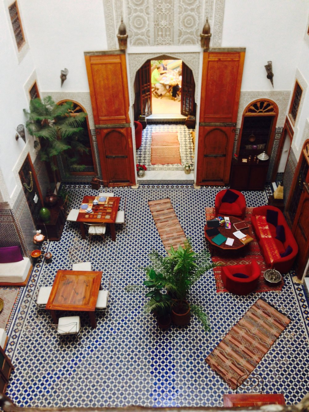 Riad in Fez, Morocco