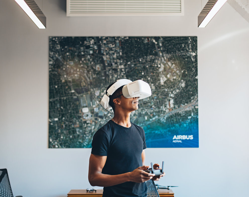 We helped Airbus launch a new business unit (and we got to play with drones...).    -