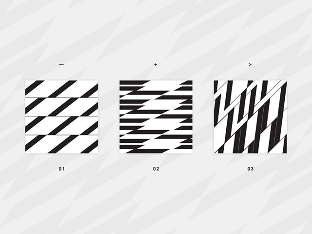Early versions of a few patterns as a tertiary element for a brand and some of its packaging design. Exploring lots of contrast and just how close these interlocking shapes can get. 👀🔍
