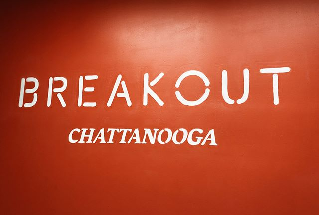 We had a blast during our team outing @breakoutchattanooga @breakoutgames (missed the folks who were out of town). . It was also great to be surrounded by the awesome branding work of @matchstichouse. 💪
