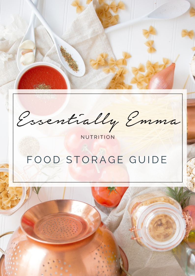 Meal planning e-book and guide by UK nutritionist