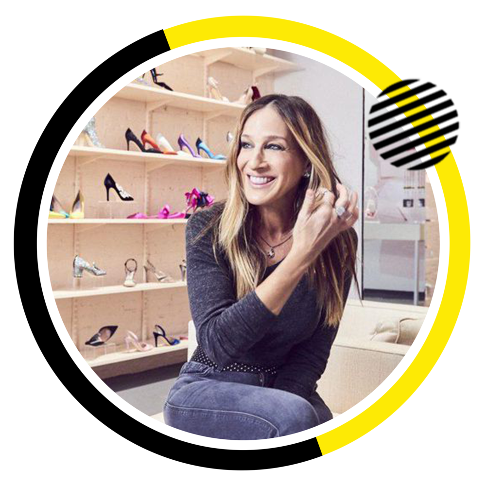 Sarah Jessica Parker  Actress, Producer, & Footwear Designer.  SJP Collection.