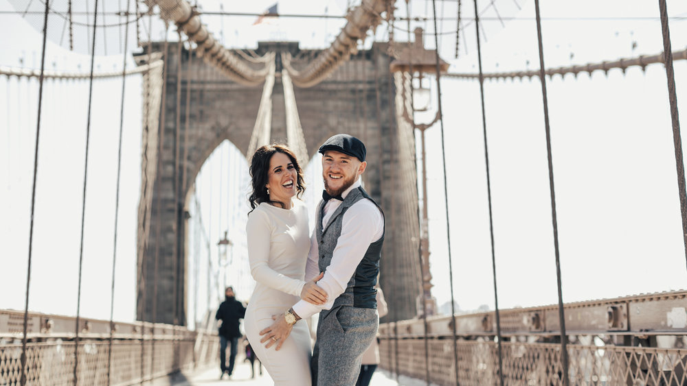 NEW YORK, Ny - an irish elopement