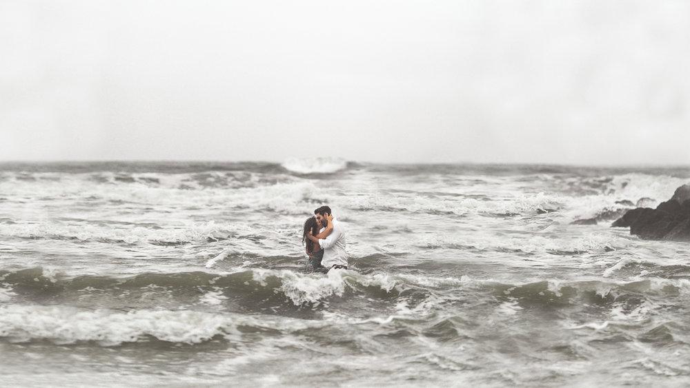 stormy seas - meghan + nick