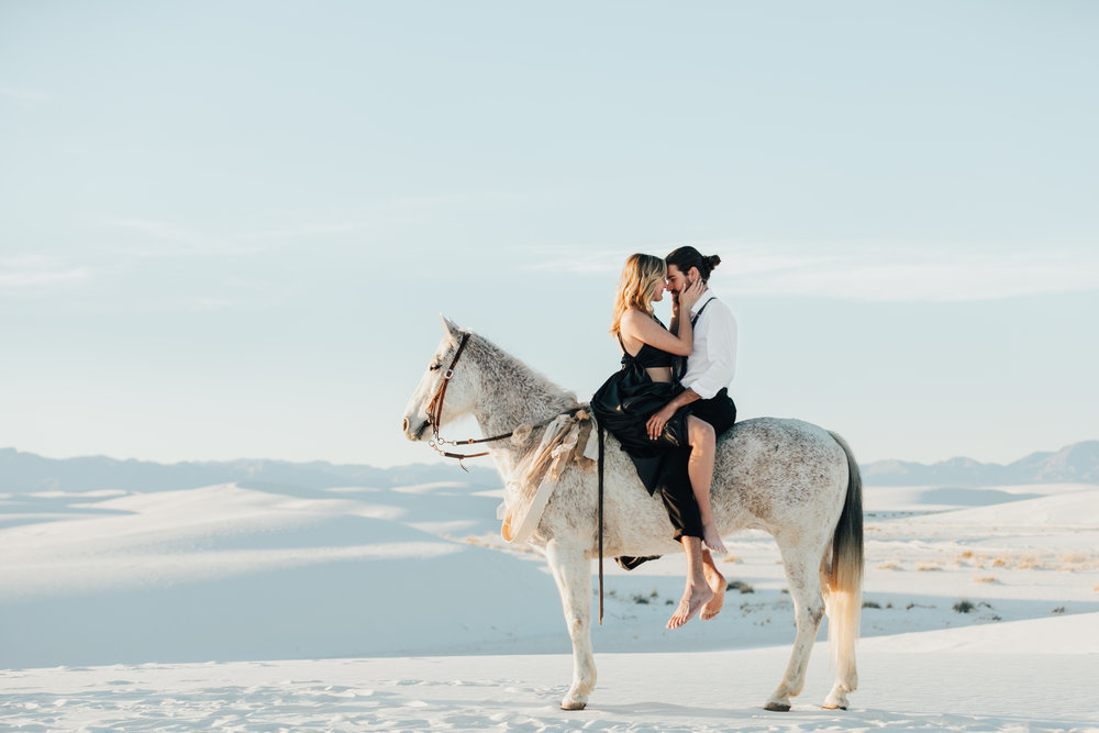 white sands, new mexico - Julianne + paul
