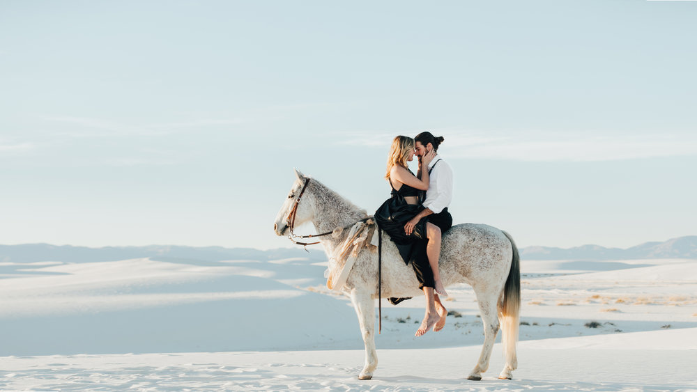 white sands desert, new mexico - julianne + paul