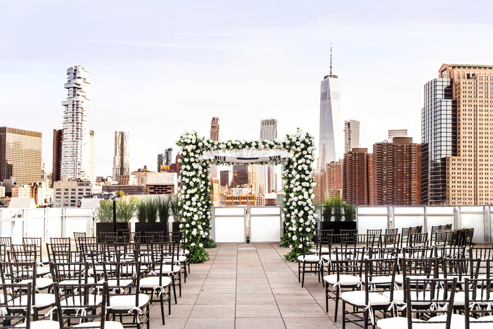TriBeCa Rooftop Ceremony Space Blue Sky Sunset-1.jpg
