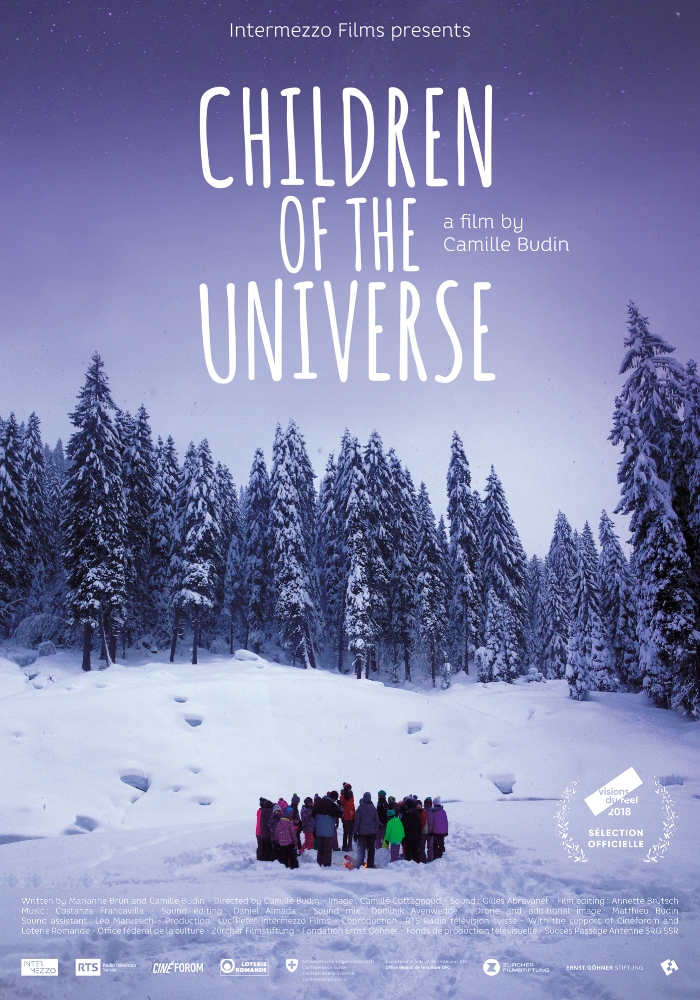 CHILDREN OF THE UNIVERSE (2018) - A documentary about the discovery of the universe throughout the eyes of a group of children, guided by a NASA astrophysicist. Nominated for Best Documentary at the Nyon Film Festival (CH)