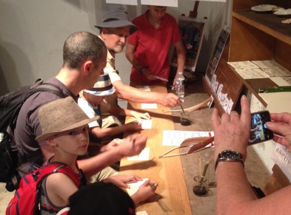Ecrivez comme vos ancêtres - Atelier calligraphie