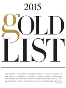 LUXE MAGAZINE Gold List 2015