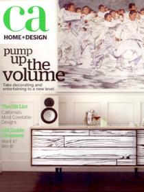 CA HOME + DESIGN Nov/Dec 2011