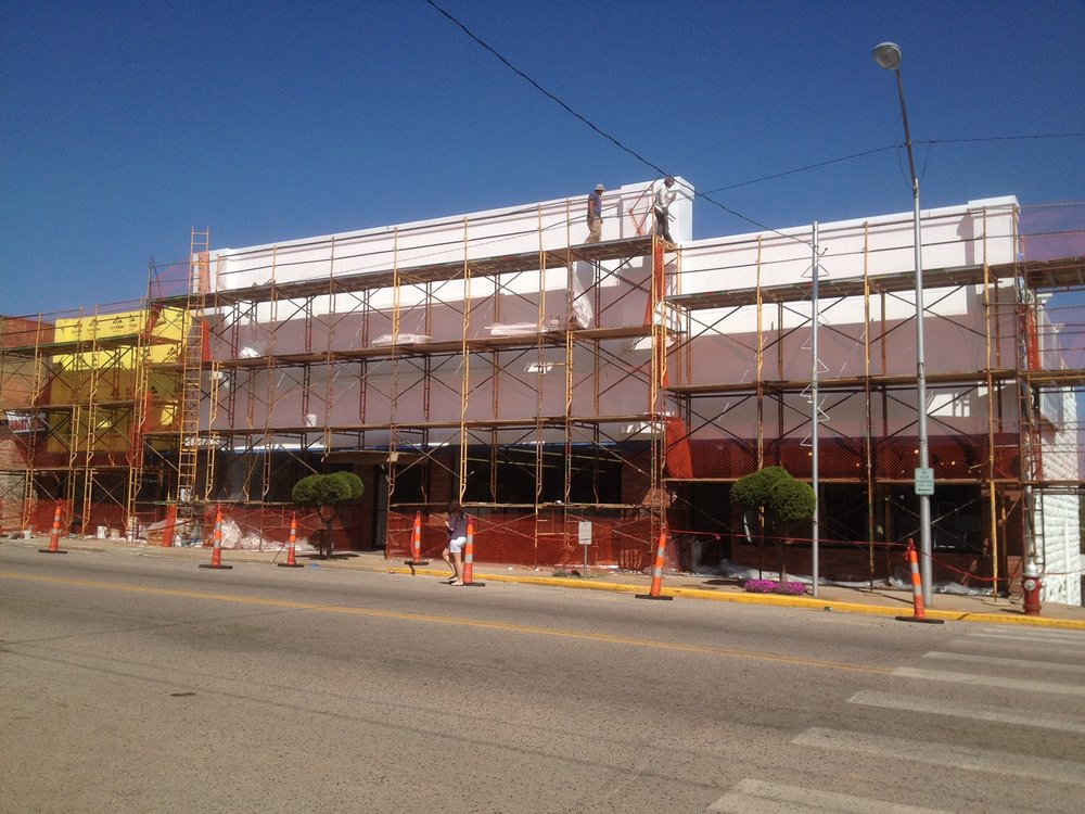 Commercial Storefront Construction Chandler Oklahoma