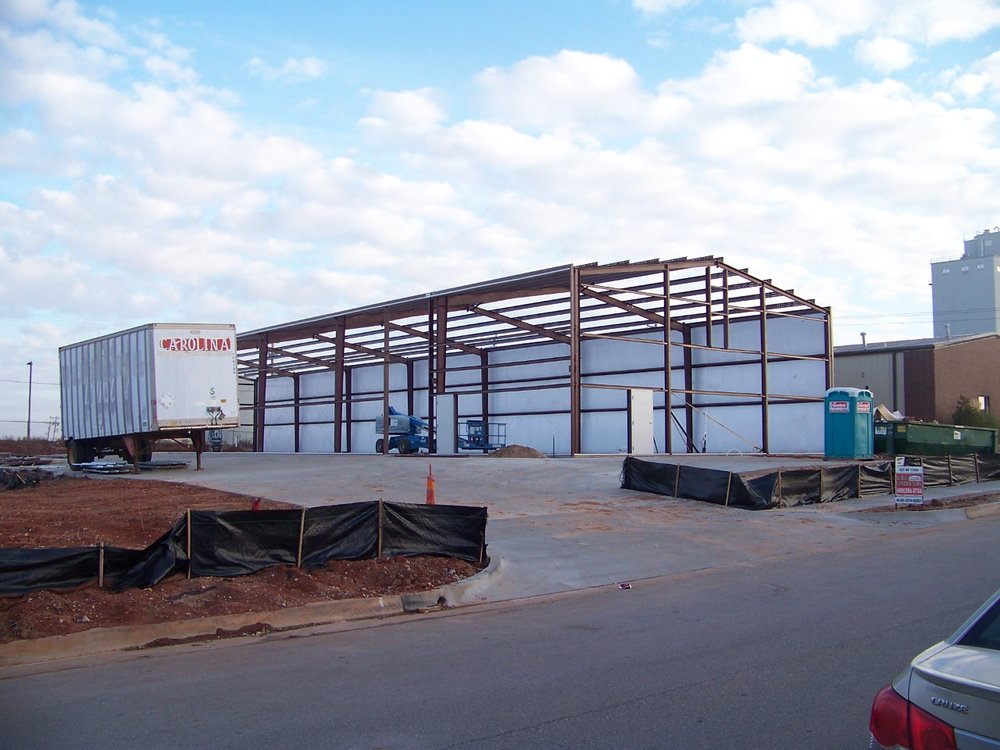 Industrial Warehouse Construction Oklahoma City OKC
