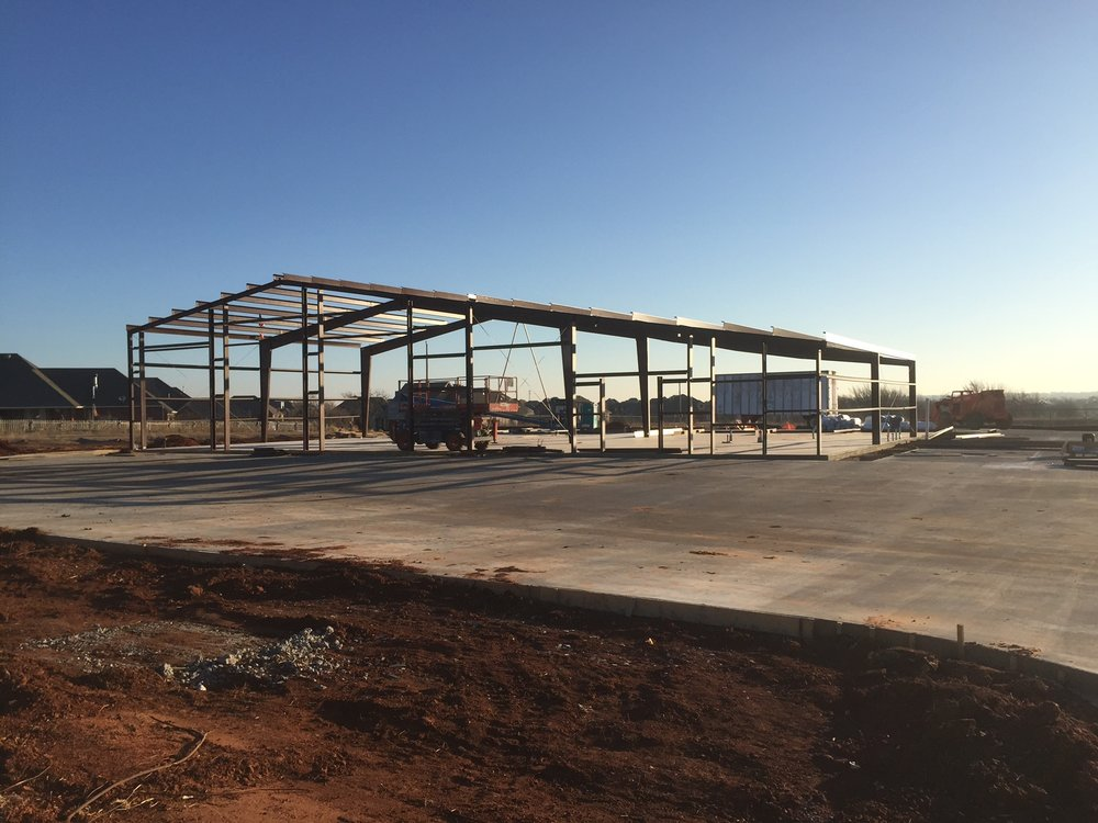 Government Fire Station Construction Deer Creek Edmond