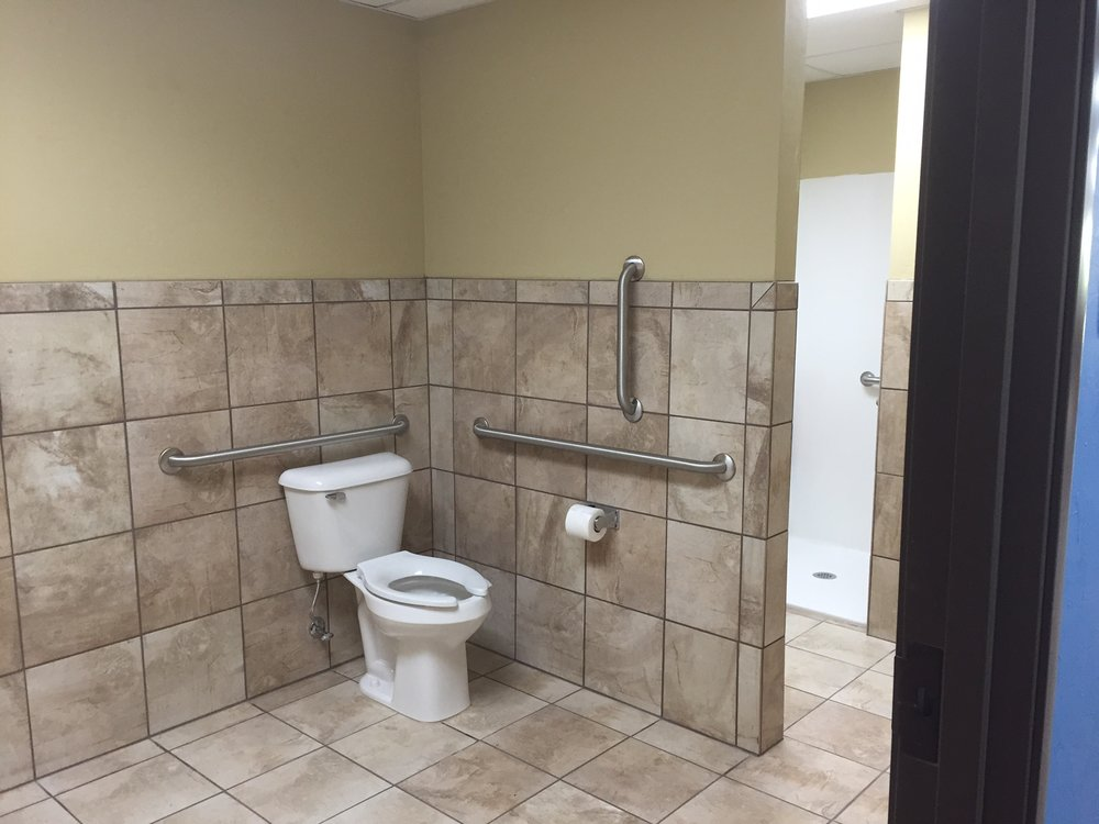 Fire Station bathroom toilet plumbing Deer Creek Edmond