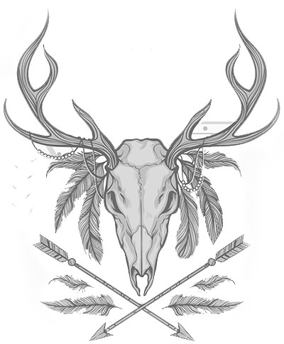 Boho skull animal tomb raider lara croft